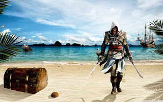 free hd images of assassins creed iv black flag for laptop