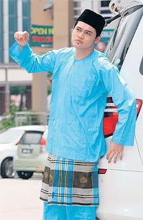 Download image Baju Songket Batik Riau Teluk Belanga Cekak Musang PC ...