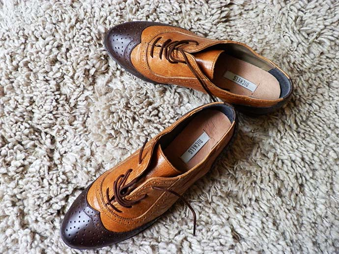 Nickels brown Oxford shoes