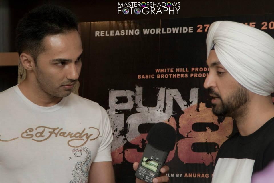 Diljit Dosanjh - Toronto Press Conference