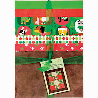 Christmas Pups Baby Quilt Kit