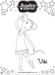 Desenhos Para Pintar Viki Dancando Ballet