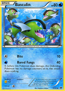 Basculin Next Destinies Pokemon Card