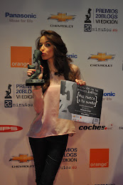 PREMIO MEJOR BLOG MODA Y BELLEZA 2011