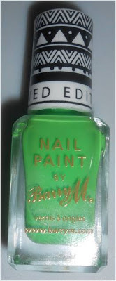 Barry M Superdrug Limted Edition 2013 Neon Green