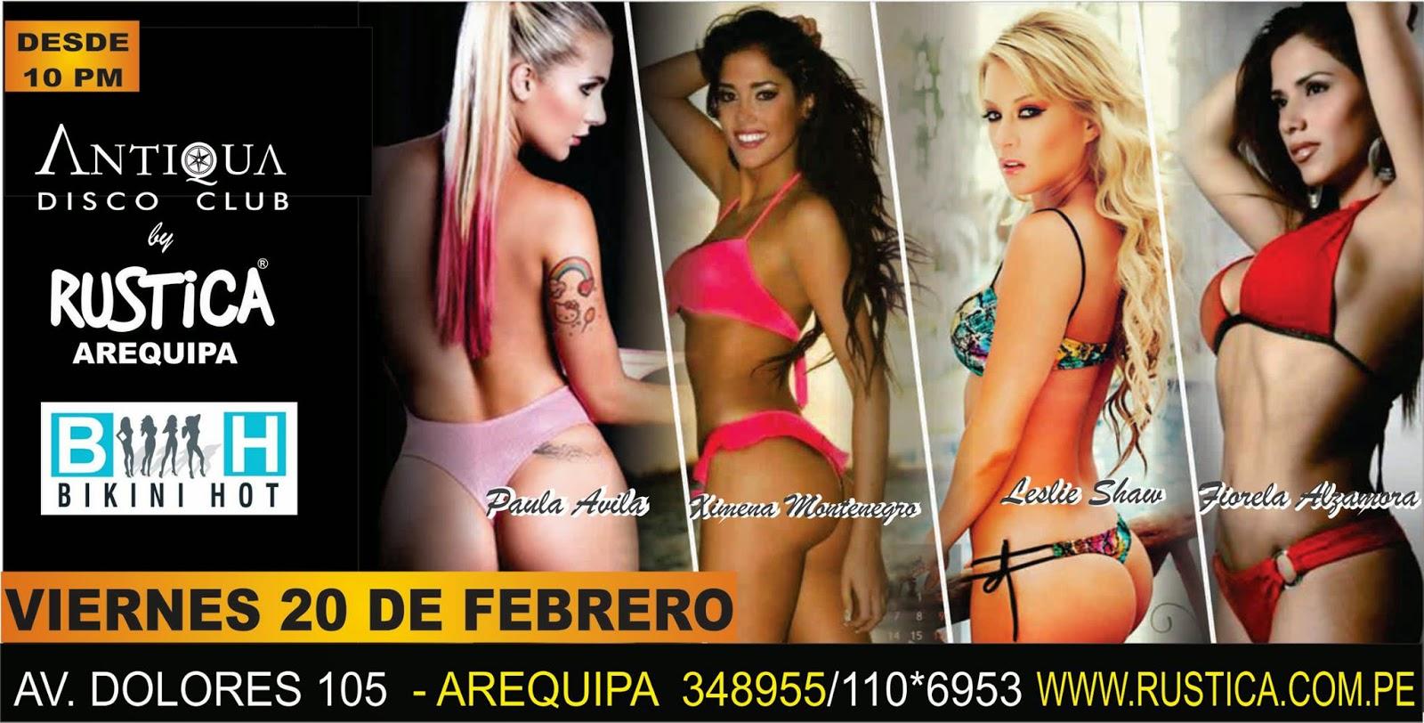 Bikini Fest Arequipa - 20 de febrero