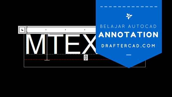 Belajar autocad 20 hari - Annotation notes dan label