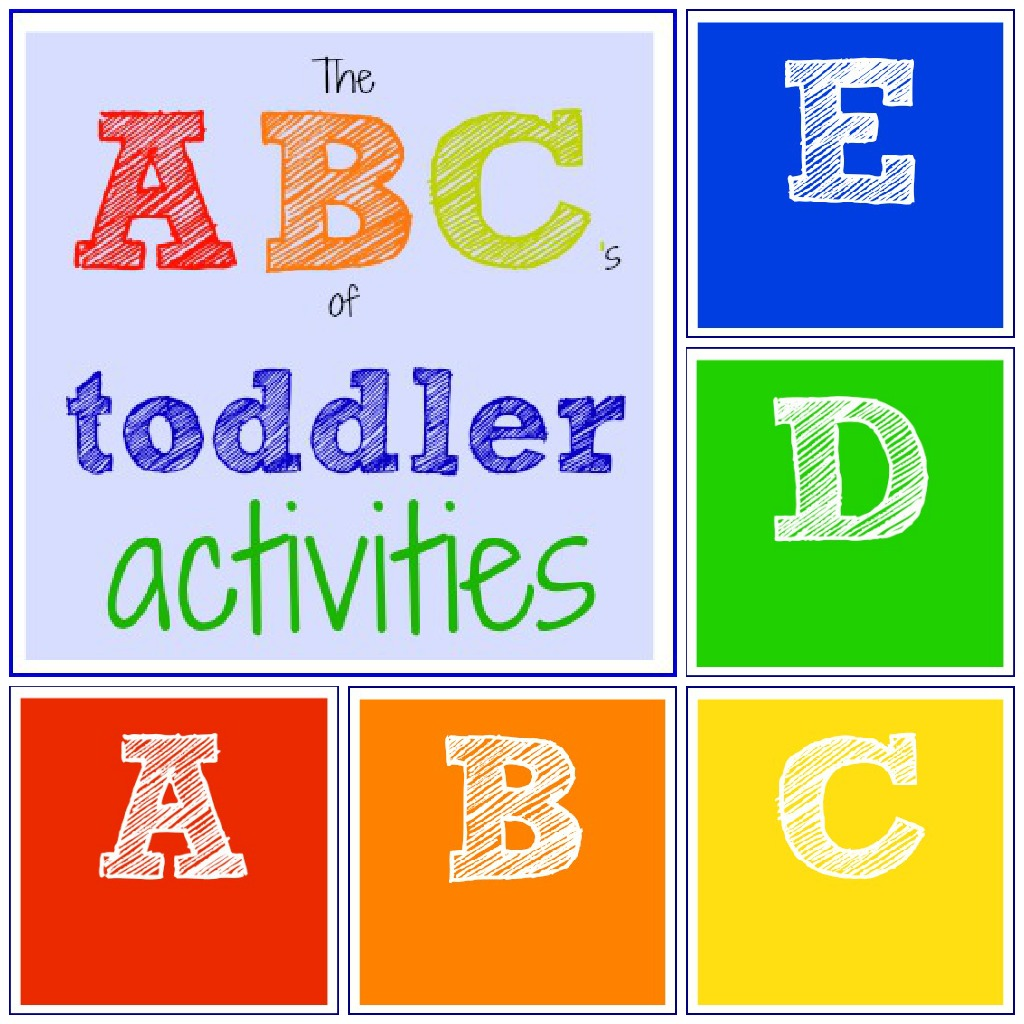 Toddler Approved!: The ABC\'s of Toddler Activities {A through E}