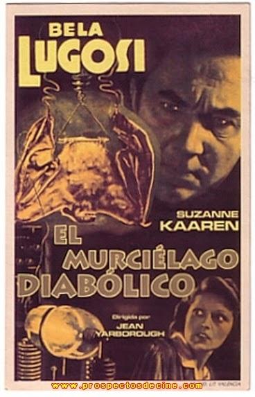 El Murciélago Diabólico (1940)