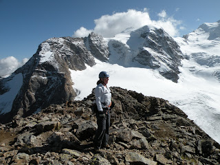 Janie in the Swiss Alps. Photograph by Janie Robinson, Travel Writer