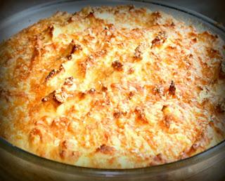 Soufflé de papas y queso