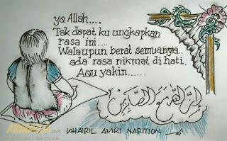 armaila.com - Lukisan Karya Khairil Amri Nasution - tak dapat kubayangkan