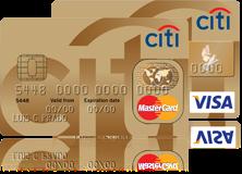 Cartão Citi Clássico Gold