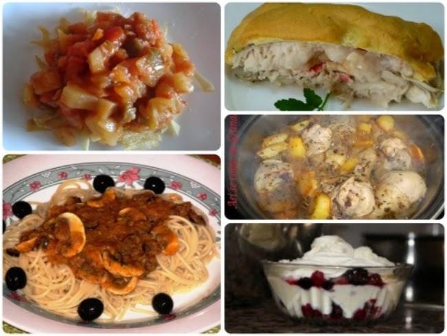 Menú con cinco recetas nº 12