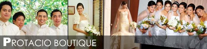 Protacio Boutique - Wedding Attires, Bridal Gowns in Cebu
