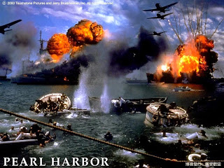 Action scene from the movie Pearl Harbor
