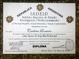 Estudios Cursados_Agradecimientos y diplomas