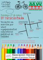 El 27 de mayo, pedalea por unos equipamientos educativos públicos de calidad