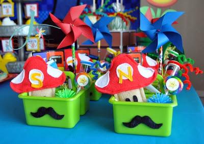 Decoracion de fiestas infantiles de super mario bros - Decoracion cumpleanos infantiles ...