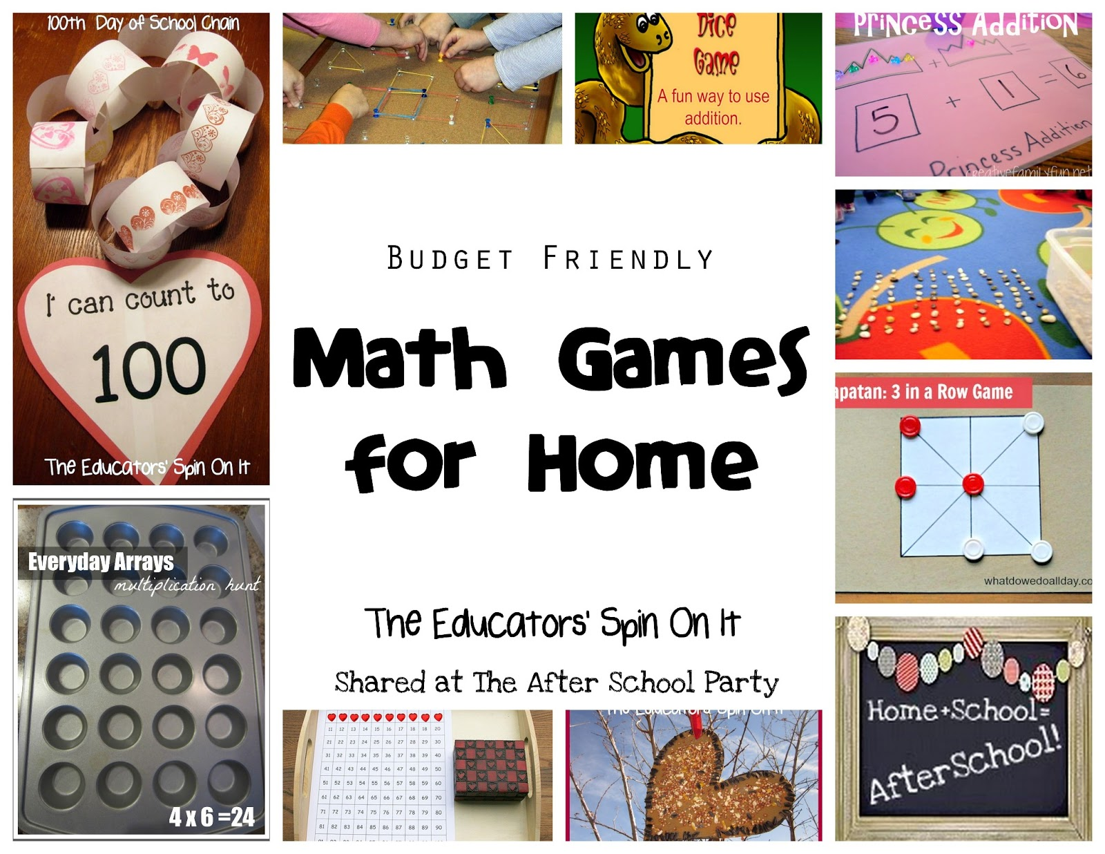 Budget Friendly Math Games For Home After School Link Up