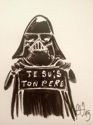 Je suis ton père - attentat Charlie - ©Guillaume Néel