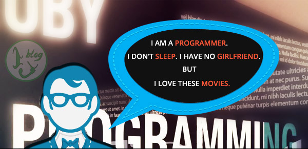 Six movies every Programmer should watch : Infographics