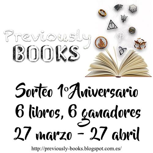 Sorteo aniversario (libros)
