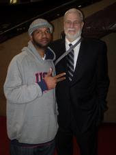 DJ Mo & Phil Jackson of the Lakers