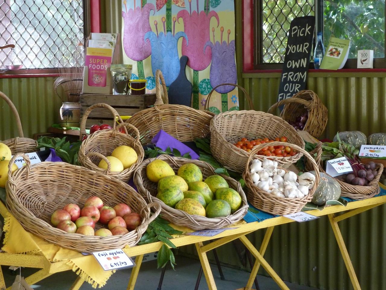 Rabbit Radio: Free organic farm tours and garden fresh Israeli ...