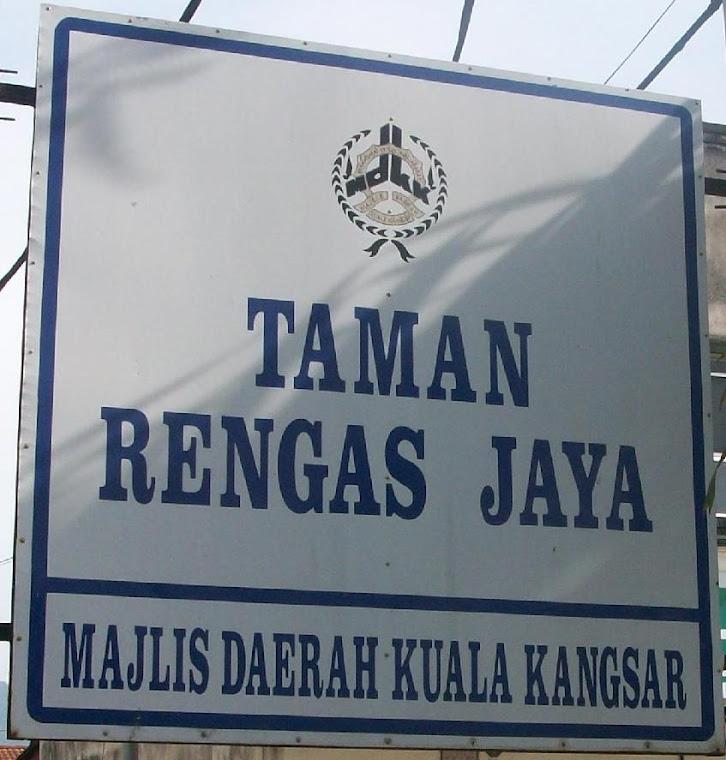 SELAMAT DATANG KE TAMAN RENGAS JAYA
