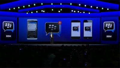 iOS y Android tendrán versiones limitadas de BBM En un futuro llegarán las versiones completas La seguridad, el mejor argumento de BBM El evento de presentación de la BlackBerry Q5 ha dejado más noticias entre las que destaca que BlackBerry Messenger multiplataforma es una realidad. El servicio de mensajería propio de BlackBerry llegará a iOS y Android en lugar de quedar sólo para BlackBerry. En el caso de iOS, para iOS 6 o superior, mientras que para Android llegará a los dispositivos con Ice Cream Sandwich 4.0 o superior. Recordemos que si una de las mayores preocupaciones (o al menos
