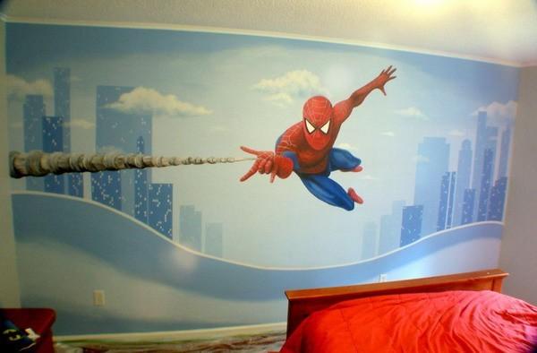 Le immagini inventate camerette per bambini e ragazzi - Decorazioni pareti camerette ...