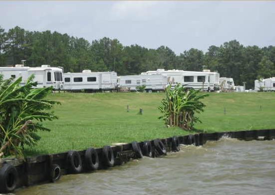 Passport america site seers northshore rv resort on lake for Cabins near lake livingston
