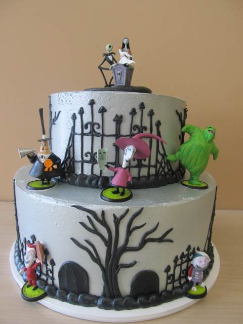 custom nightmare before christmas cake from ontario bakery rancho cucamonga location too
