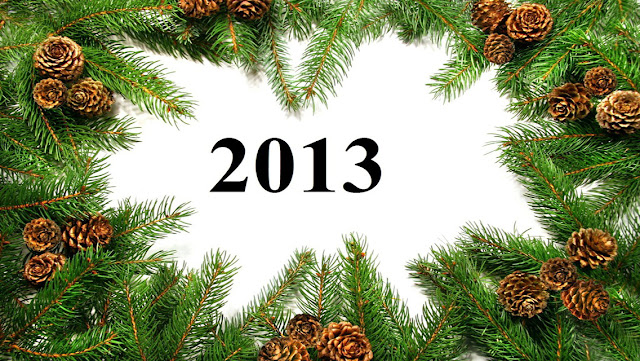 Free Download New Year 2013 HD Wallpapers for iPhone 5