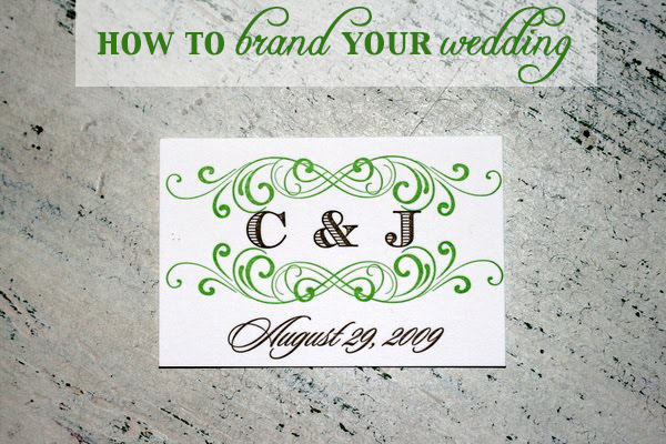 how to brand your wedding