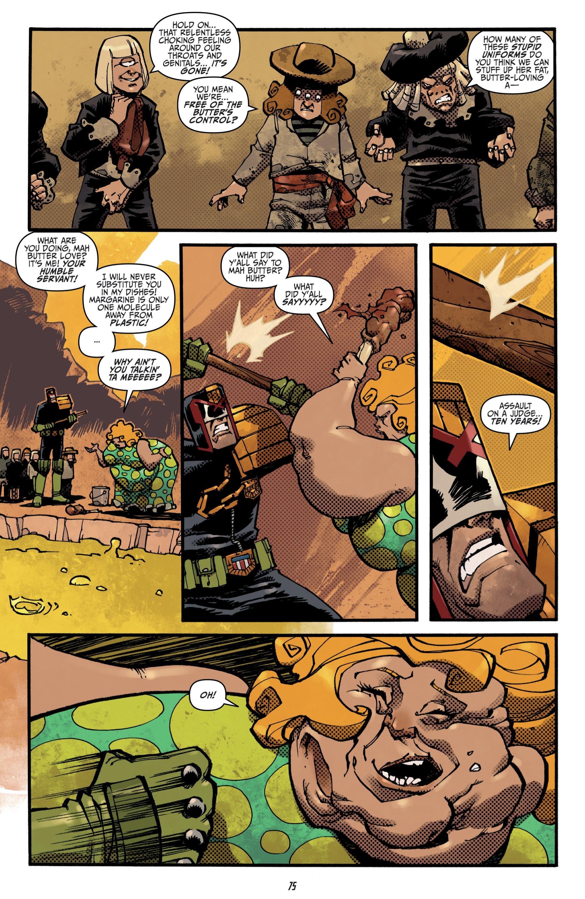 Read online Judge Dredd (2012) comic -  Issue # _TPB 3 - 75
