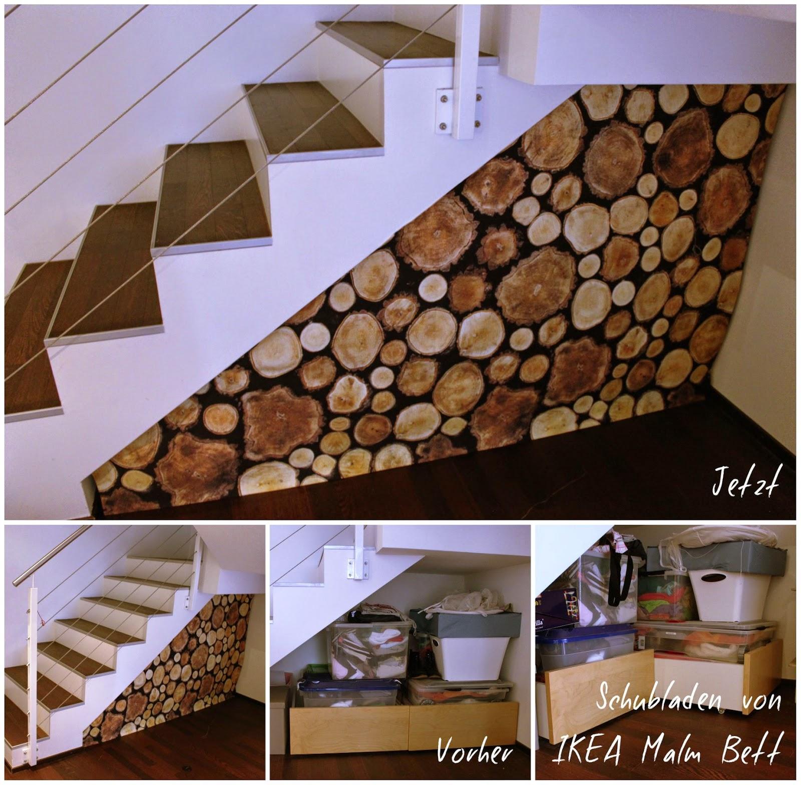Holzstapel aus stoffweberin nachhaltig und kreativ - Ikea stoffe a metraggio ...