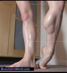 Oiled Legs