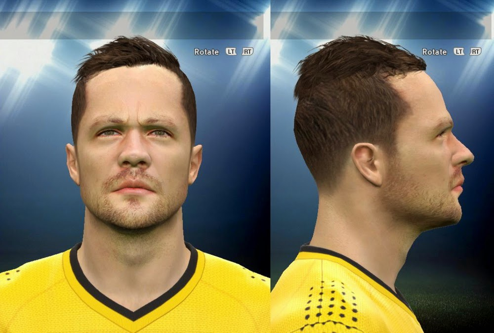 PES 2015 Lukas Kruse Face by AMussoullini
