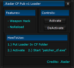 CrossFire Hilesi Radar Leoder CF Pub v1.0 indir – Download