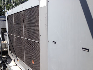 uniflair, rabscreen, filter, external filter, chiller screen,