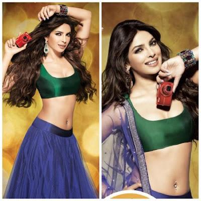 Priyanka Chopra hot photo shoot Nikon Camera ads