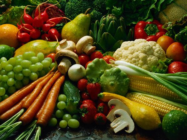 ... dan mudah didapati. Buah-buahan dan sayur-sayuran kaya dengan zat dan