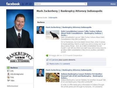 Mark Zuckerberg avvocato