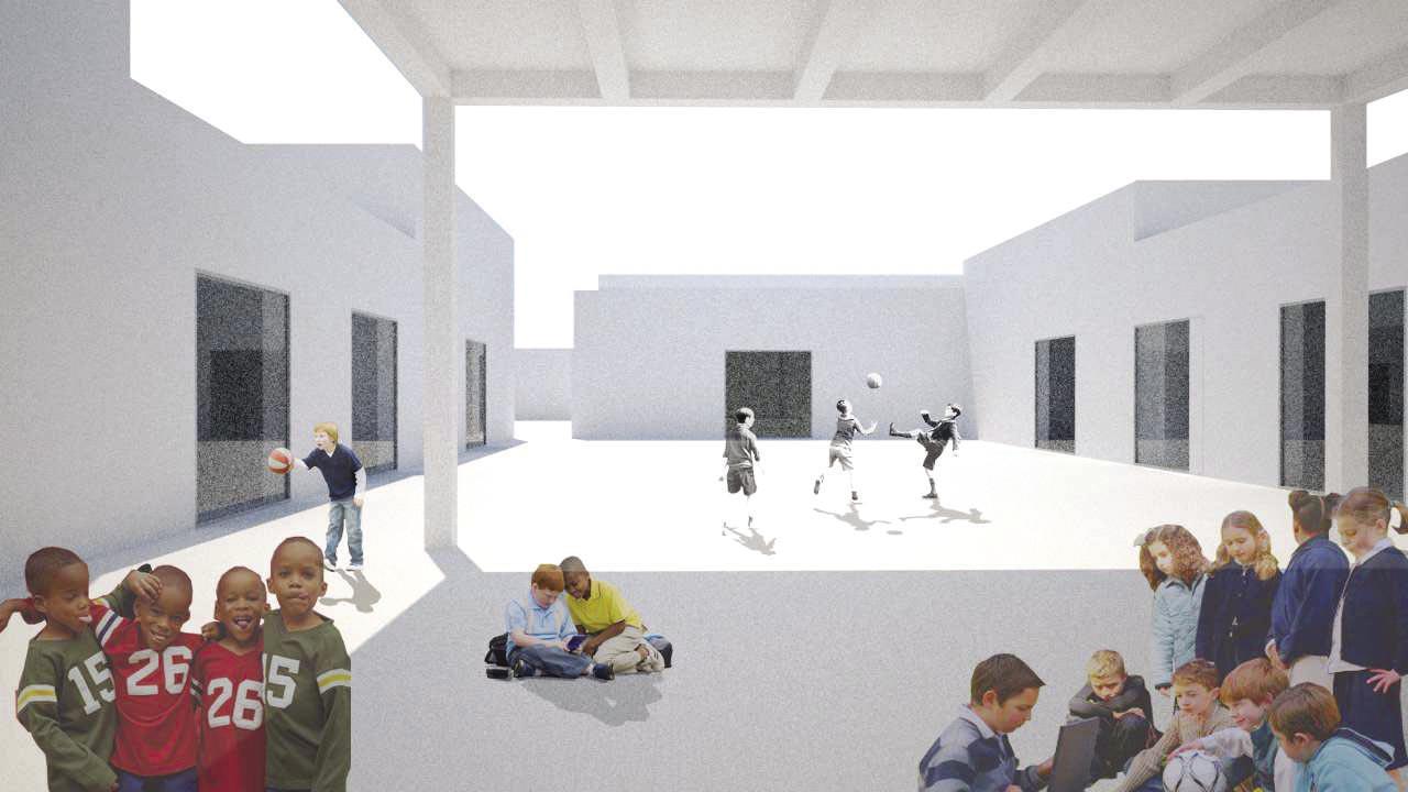 Viva Eggleston O novo Centro Escolar de Vila