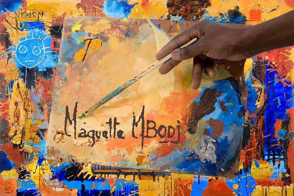 ARTE AFRICANO MAGUETTE