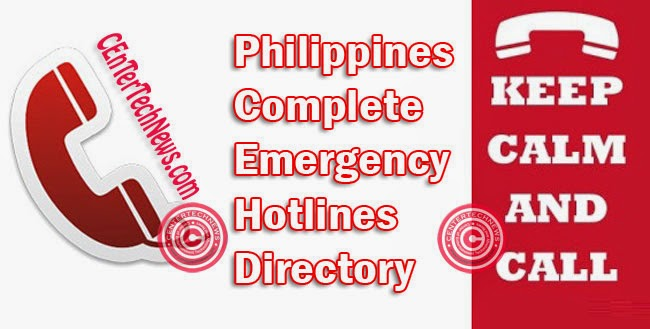 Complete Emergency Hotlines Directory of the Philippines