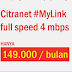 Spesial Promo Citranet 4Mbps Mulai 149rb-An Februari 2016