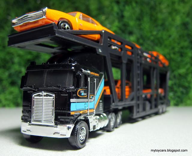 matchbox kenworth car carrier auto transport